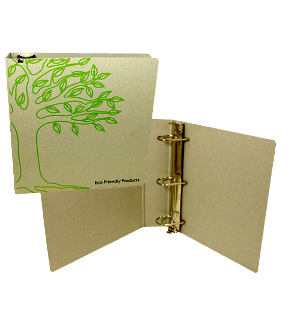 3 Ring Binder Design Green Eco Friendly Yebo Custom Binders And Folders